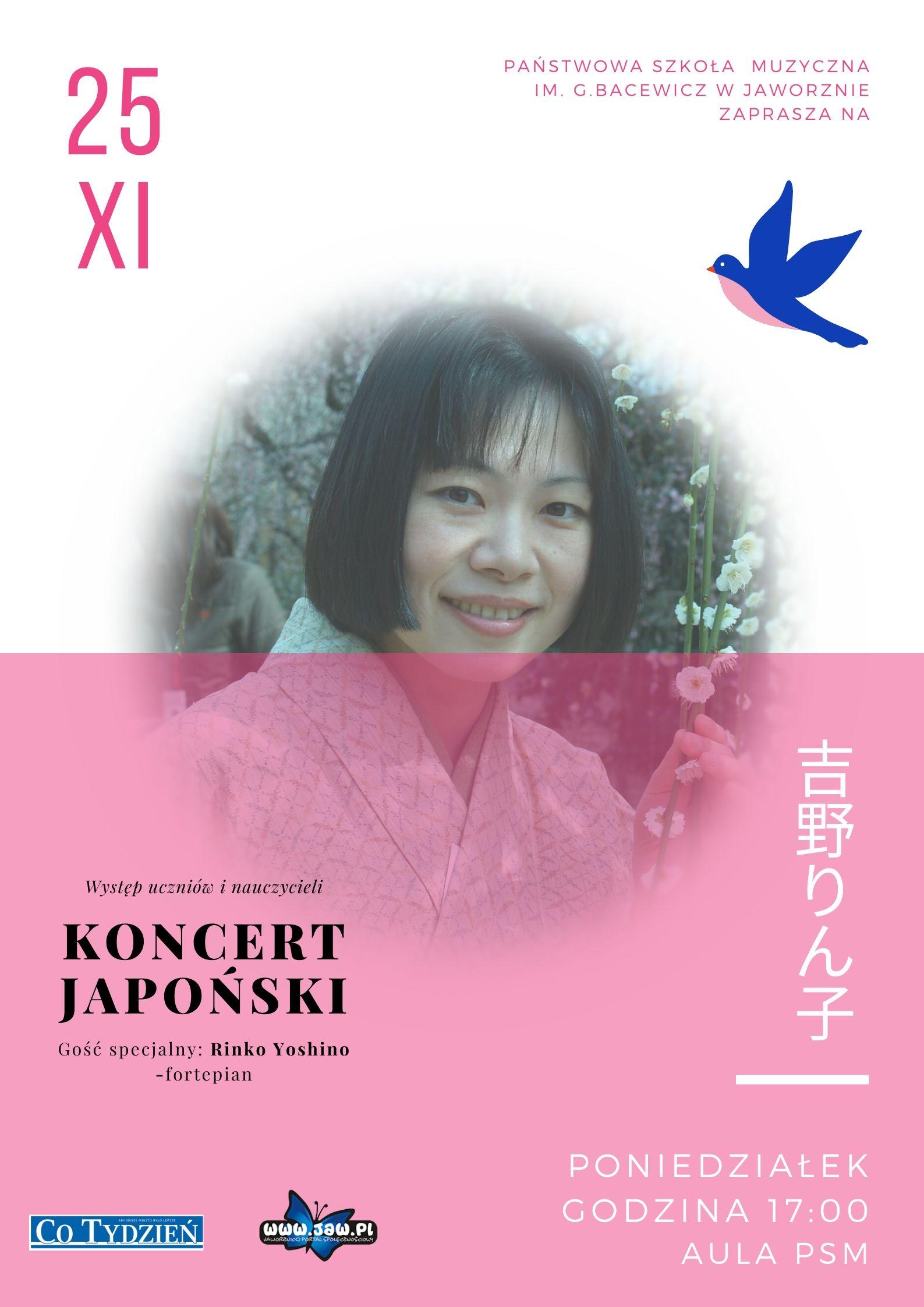 Koncert japoński Yoshino